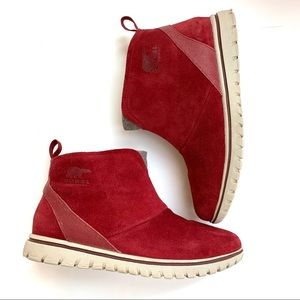 Sorrel | Red Light Weight Booties 7.5